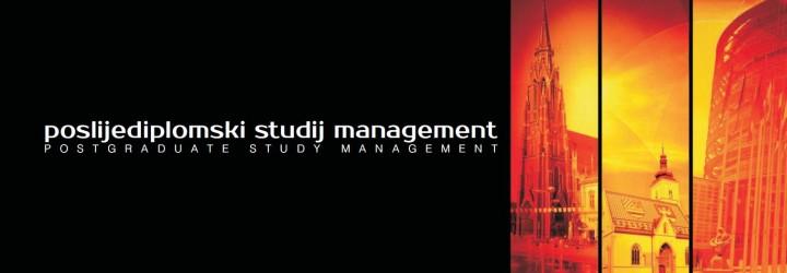 Natječaj za upis studenata na poslijediplomski sveučilišni studij Management u akademskoj 2019./2020. godini